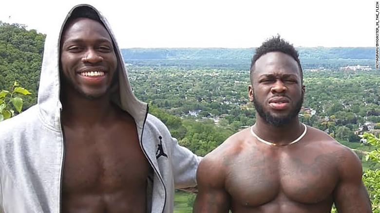Brothers Abimbola Osundairo and Olabinjo Osundairo.