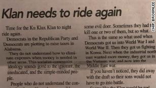 This is the editorial that ran in the Democrat-Reporter newspaper on February 14.