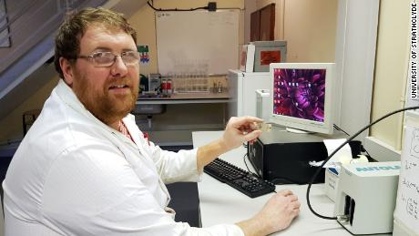 Damion Corrigan of the University of Strathclyde is one of the researchers who developed the test.