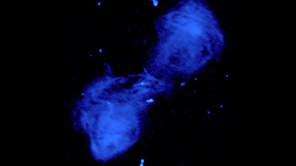 J0349+7511 is a giant radio galaxy associated with Abell 449, a cluster of galaxies.