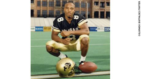 "Anthony ""T.J."" Cunningham also played wide receiver and defensive back at the University of Colorado."