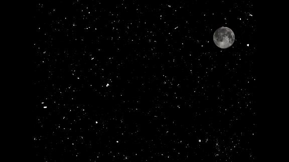 This is just 1/30th of one of the LOFAR survey areas, using the full moon for scale. These aren't stars, they're galaxies.