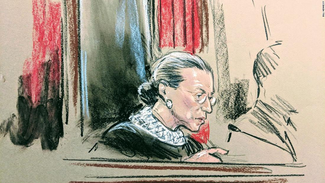 Ginsburg delivers first opinion since cancer surgery in excessive fines case