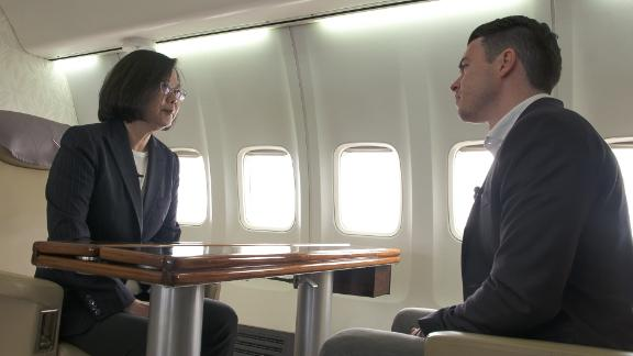 Taiwan President Tsai Ing-wen tells CNN's Matt Rivers she intends to run for another term in 2020.