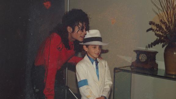 Michael Jackson and Wade Robson