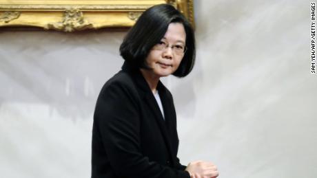 Taiwan President Tsai Ing-wen will run for re-election in 2020