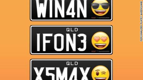 Emojis on license plates? LOL it's about to be a thing