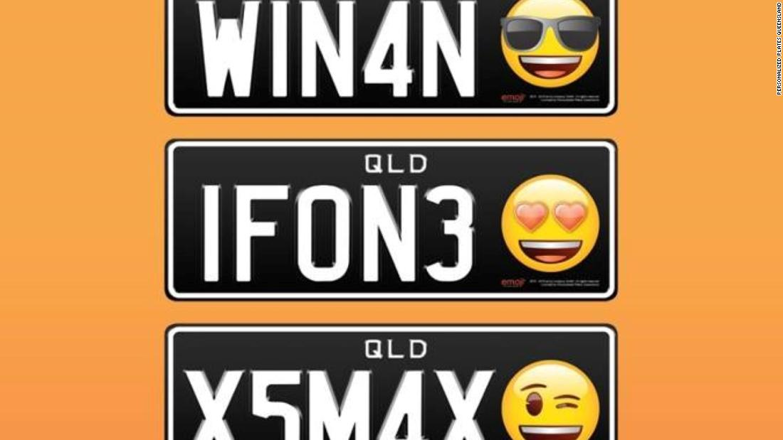 Emojis on license plates? LOL it's about to be a thing - CNN