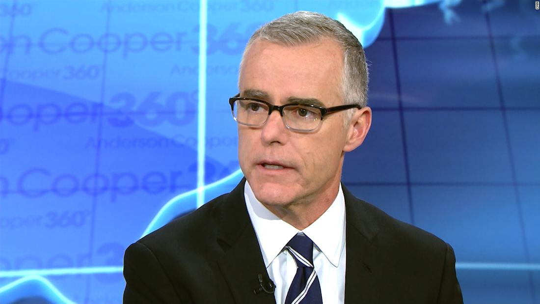 Attorney for McCabe asks prosecutors if grand jury has declined to bring charges