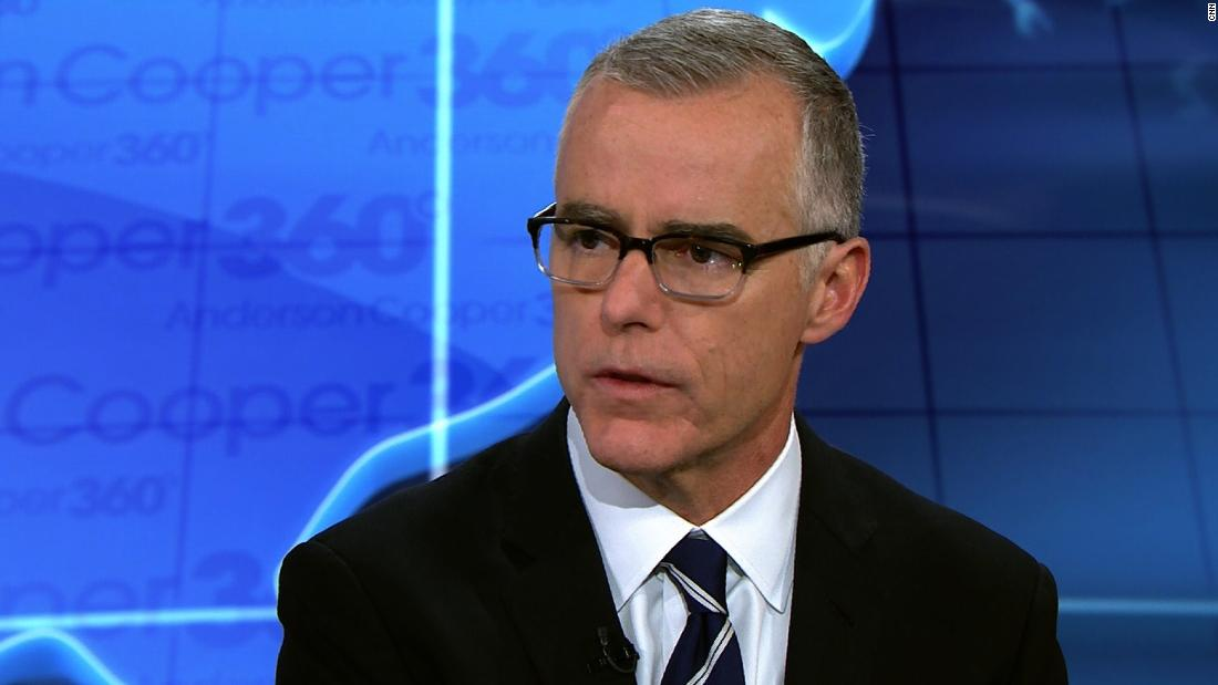Andrew McCabe: 'It's possible' Trump is a Russian asset