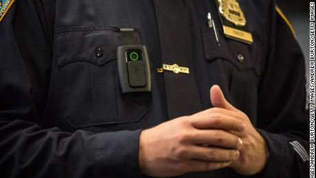 Body cameras record what police officers see as they perform their duties.