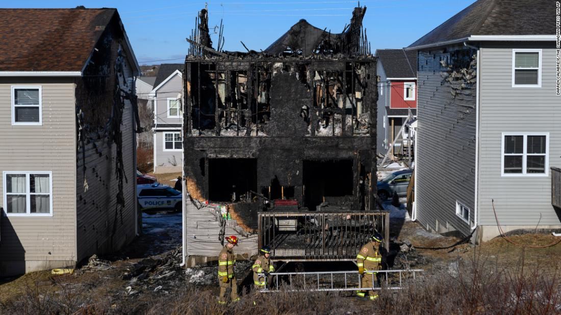 A Syrian family fled to Canada to escape the war. All 7 children just died in a house fire
