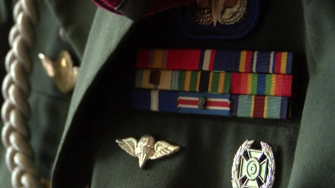 An Army veteran stumbles upon his uniform three years after it mysteriously disappeared