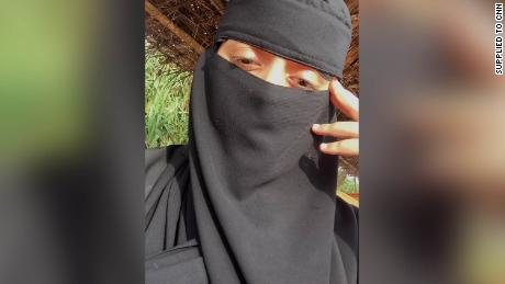 The women shared selfies they'd taken of their life before they fled. They wore niqabs in public from the age of 11 and at home were told to wear long gowns, so as not to tempt their brothers.