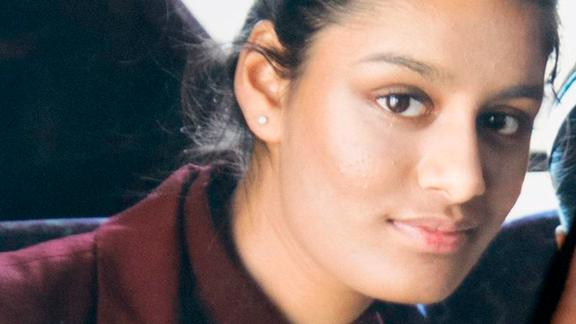 Shamima Begum. Undated file photo of Shamima Begum, 15, who fled the UK to join the Islamic State terror group in Syria aged 15, and has been stripped of her British citizenship by the Home Office. Issue date: Wednesday February 20, 2019. See PA story POLITICS Syria. Photo credit should read: PA/PA Wire URN:41307777 (Press Association via AP Images)