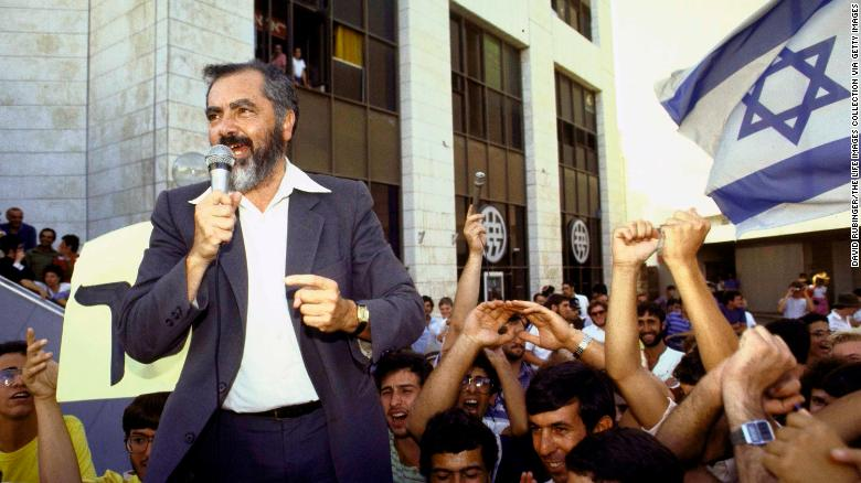 Rabbi Meir Kahane and his political party were banned from Israel's parliament for being racist and undemocratic.