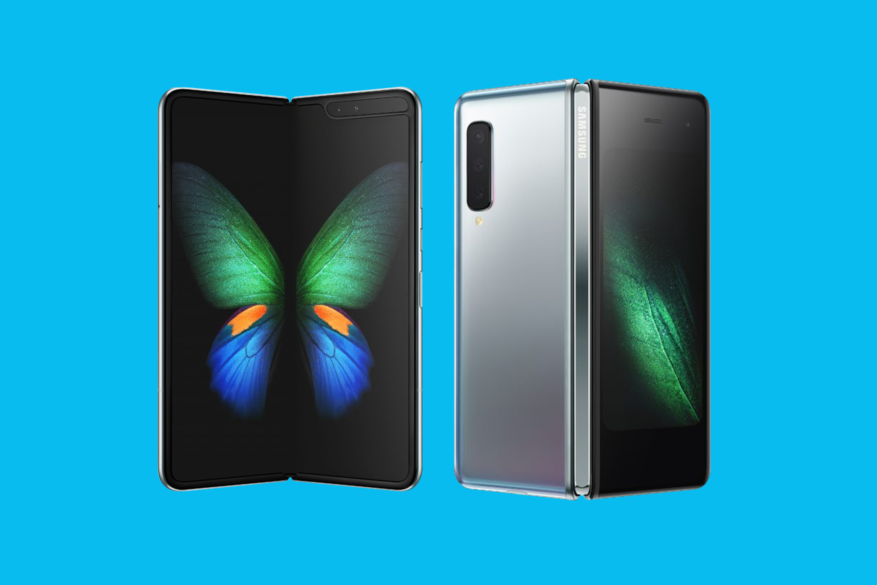 See the Galaxy Fold, Samsung's new foldable phone