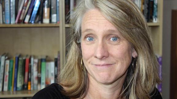 """We have a huge teacher retention crisis,"" high school teacher Shannon Carey said."