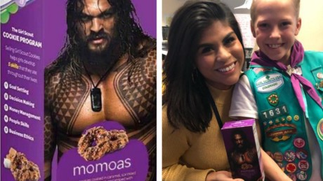 Colorado Girl Scout Turns Samoas Into Momoas To Honor Aquaman