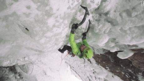 Sitting in a jail cell, Margo Talbot decided to trade in a life of drugs for ice climbing.