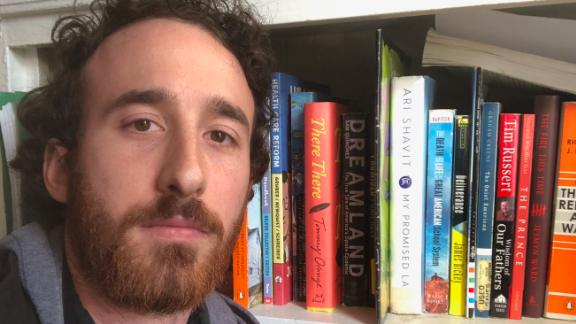 Second-year teacher Will Corvin said he's not sure how long he'll be able to stay in Oakland.