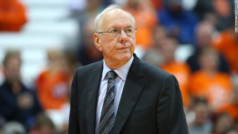Jim Boeheim Syracuse Basketball Coach Hits Kills Man On Interstate Cnn
