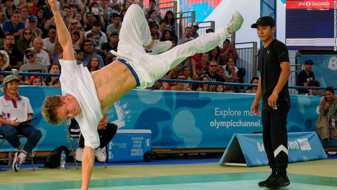 Breakdancing proposed as new Olympic sport