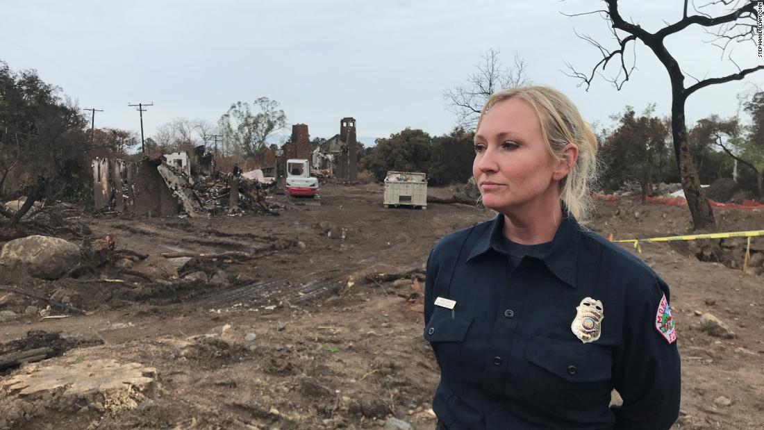 She narrowly escaped a deadly mudslide. Her heroic efforts saved dozens of lives.