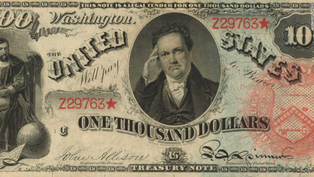 Incredibly rare US bank bills set to sell for $8 million at