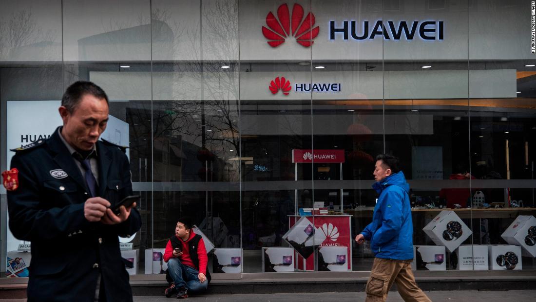 Huawei's still growing in Canada