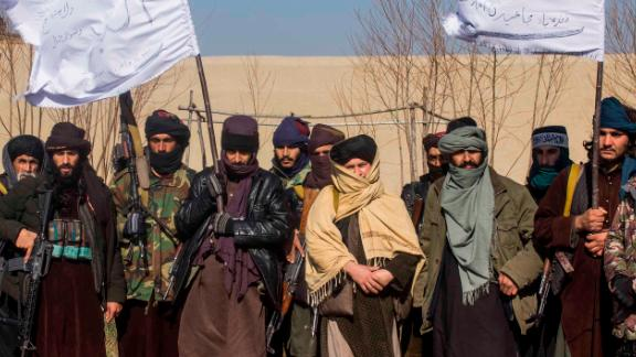 Taliban members put on a show of force for CNN journalists -- an exceptionally rare and dangerous display for so many fighters to congregate in one place.