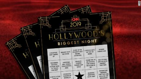 graphic relating to Printable Olympics Tv Schedule known as Oscar bingo: Printable playing cards for Oscars 2019 - CNN