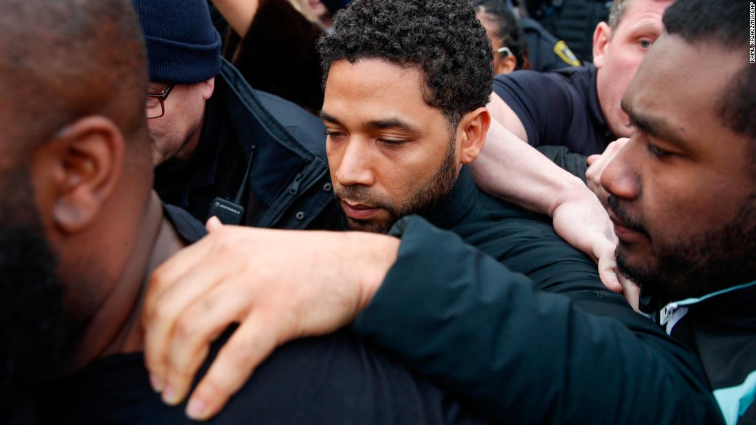 Jussie Smollett paid $3,500 to stage his attack, hoping to promote his career, police allege