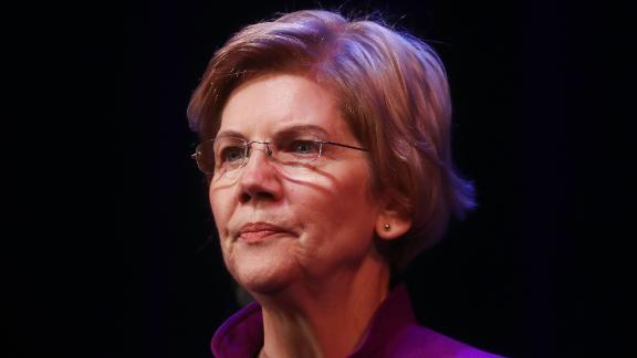 GLENDALE, CA - FEBRUARY 18:  U.S. Senator and Democratic presidential candidate Elizabeth Warren (D-MA) pauses while speaking at an organizing event on February 18, 2019 in Glendale, California. Warren is attempting to become the Democratic nominee in a crowded 2020 presidential field and is the first candidate to have a public campaign event in the metropolitan area of Los Angeles.  (Photo by Mario Tama/Getty Images)