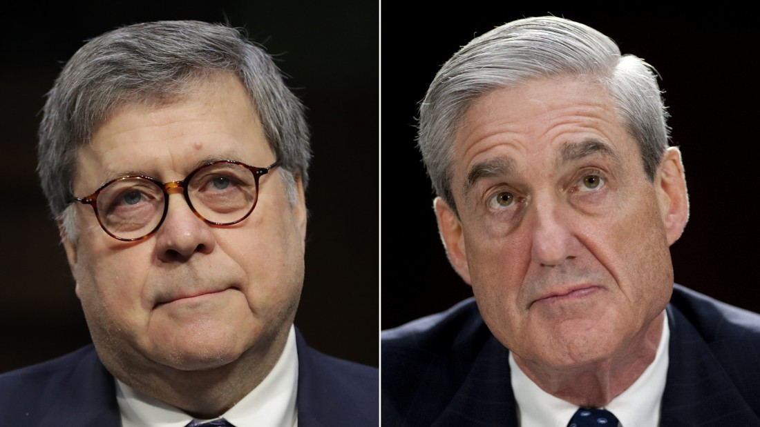 Barr's letter is not Mueller's report