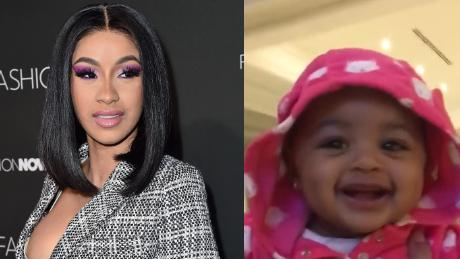Cardi B Shares Adorable Video Of Her Baby Girl Cnn Video