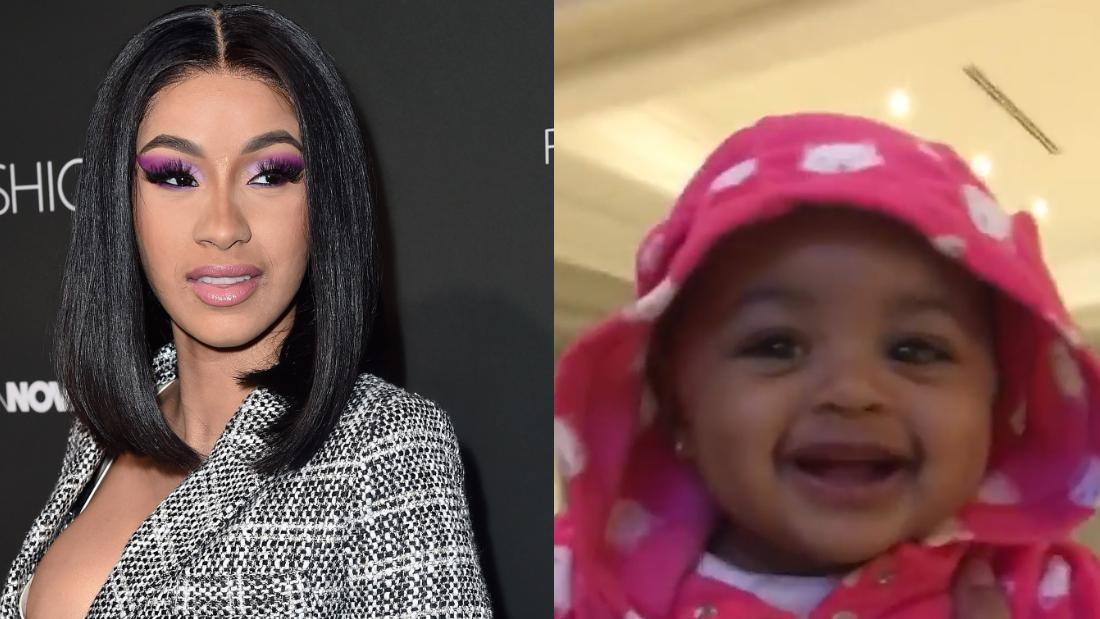 Cardi B Shares Adorable Video Of Her Baby Girl