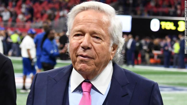 Patriots Owner Accused Of Soliciting Sex