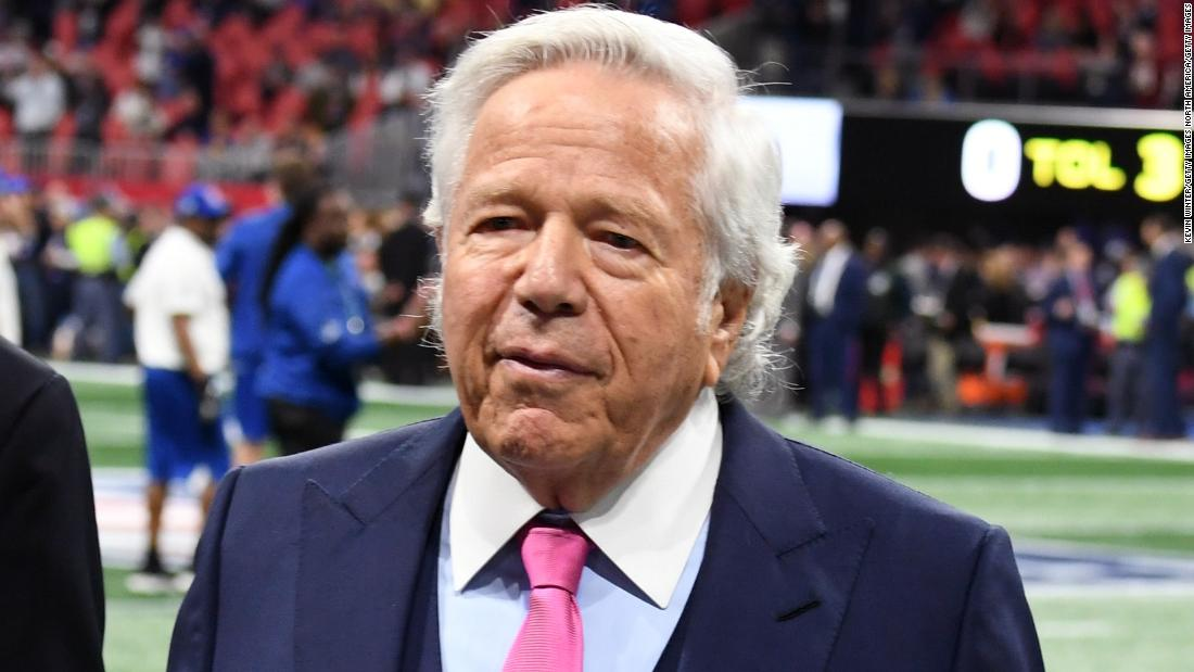 Patriots owner Robert Kraft files a motion to stop public release of spa videos