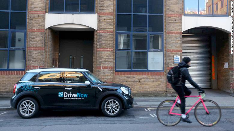 DriveNow is a carsharing service owned by BMW.