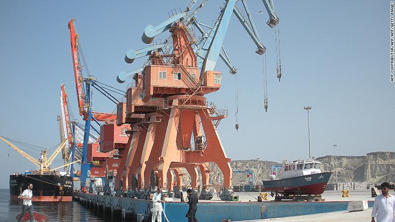 The Gwadar port is a key part of China's investment in Pakistan.