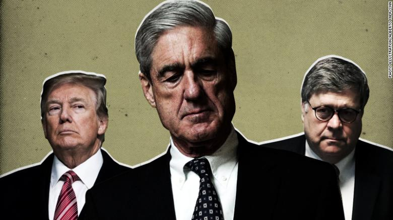 Mueller did not find Trump or his campaign conspired with Russia, also did not exonerate him on obstruction