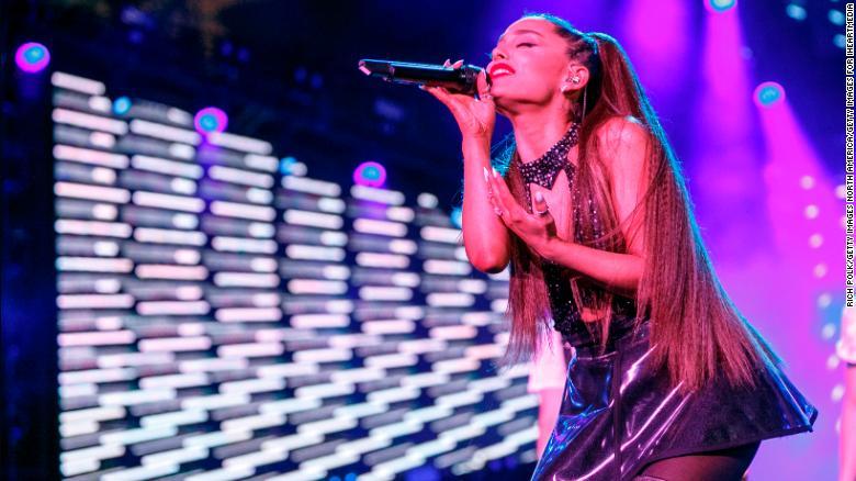 Ariana Grande makes history