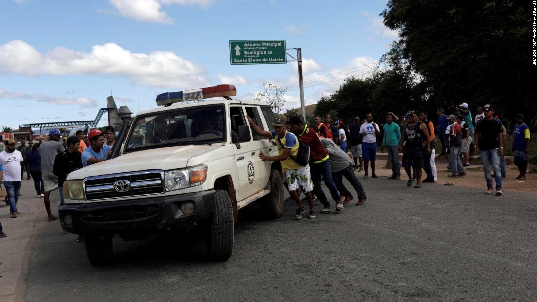 Venezuelan military kills woman in standoff over international aid, mayor says