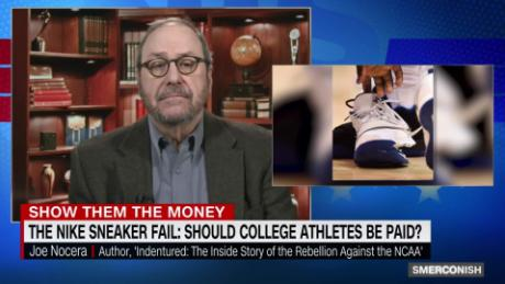 buy online d261b 79394 Nike sneaker fail  Should college athletes be paid   00003211