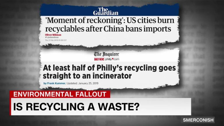 Is recycling a waste?