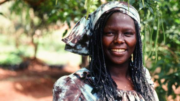 Kenyan environmental and political activist Wangari Maathai was the first African woman to receive the Nobel Peace Prize. She earned her bachelor