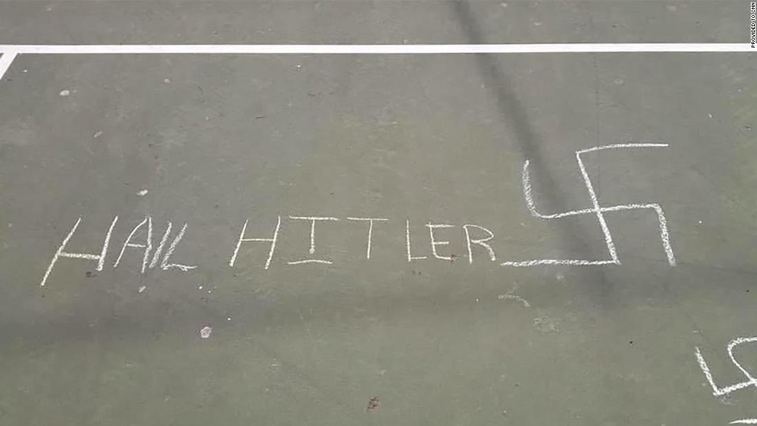 NYPD hate crimes task force investigating Nazi drawings found at an elementary school