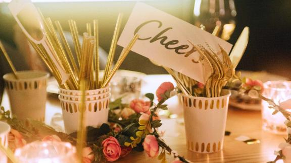 The goal is to help people save time buying and organizing items for parties.