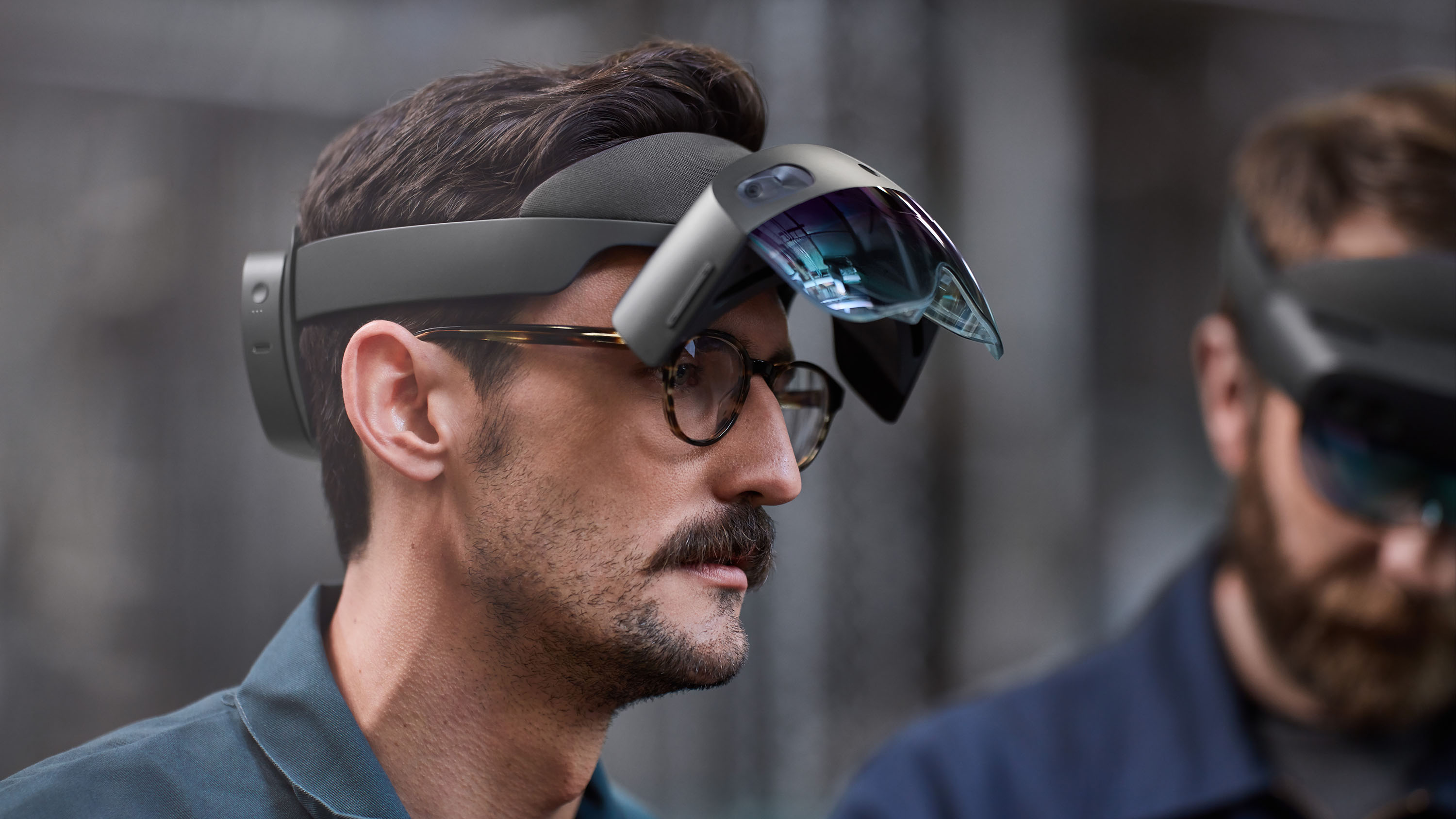 1918f1e771c Hands on with Microsoft s new augmented reality headset - CNN Video